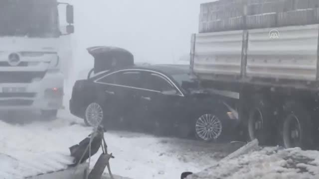Niğde-Adana kara yolunda kaza yaparak mahsur kalan TBMM İdare Amiri Ali Şahin'e ulaşıldı
