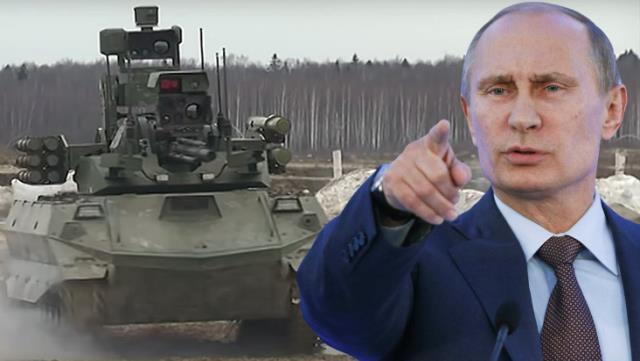 Rusya'dan yeni gözdağı! Putin'in yeni silahına ait görüntüler devlet kanalında yayınlandı