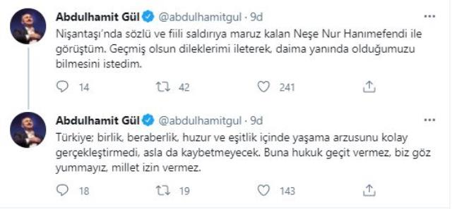Saldırıya uğrayan araştırma görevlisine Adalet Bakanı'ndan destek mesajı
