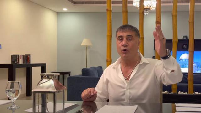 Sedat Peker'den yeni video: Dubai'deyim, her şeyi yapsanız da Türkiye'ye dönmeyeceğim
