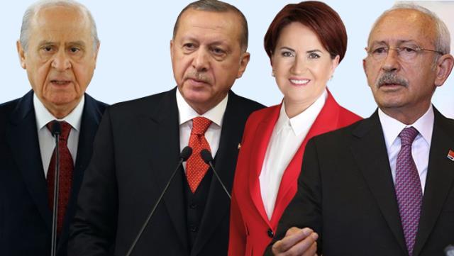 Son anket seçimlerinde MHP ve HDP'ye kötü haber: Seçim barajını aşamadılar