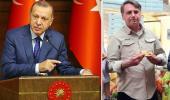 Erdoğan'ın da bulunacağı BM toplantısına katılacak! Brezilya Devlet Başkanı Bolsonaro, aşısız olduğu için pizzacıya alınmadı