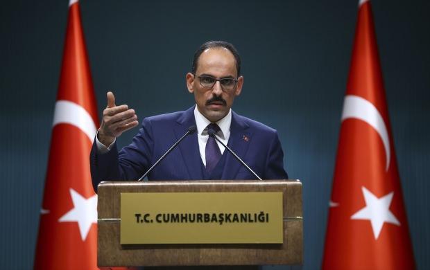 Cumhurbaşkanlığı Sözcüsü İbrahim Kalın, Bakanlar Kurulu toplantısının ardından gazetecilere açıklama yaptı.