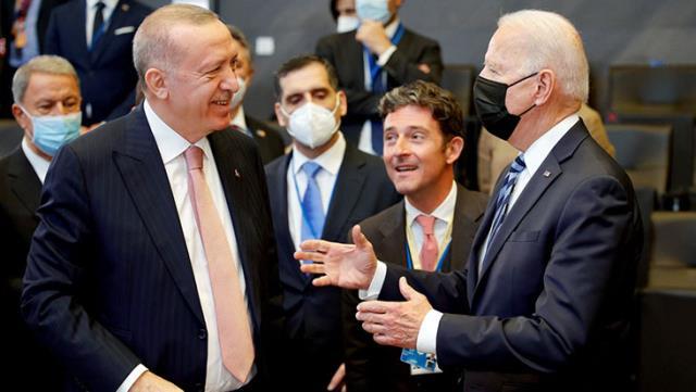 Son Dakika: Cumhurbaşkanı Erdoğan- ABD Başkanı Biden görüşmesi 1 saat ertelenerek 19:00'a alındı