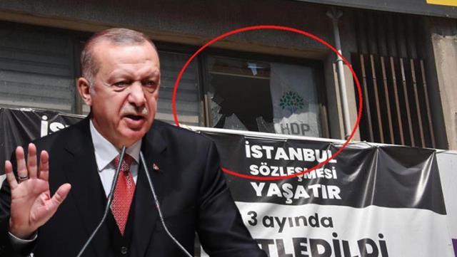 Son Dakika: Cumhurbaşkanı Erdoğan, HDP İzmir İl Binası'na düzenlenen saldırıyı kınadı: Fail en ağır cezayı alacak