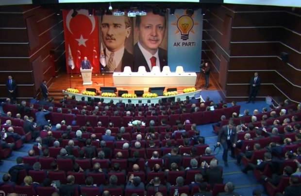 Son dakika | Cumhurbaşkanı Erdoğan'ın konuşma yaptığı anlardan bir kare