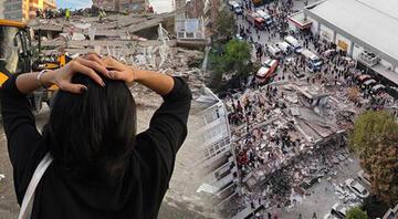 Şiddetli deprem İzmir'i vurdu 15 kenti salladı..Tsunami meydana geldi..