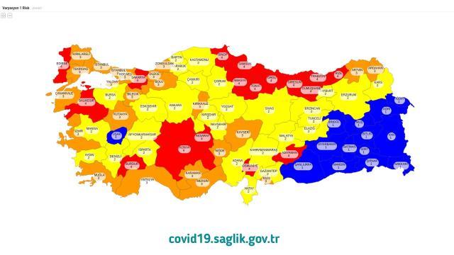 Son Dakika: Sağlık Bakanı Fahrettin Koca, Türkiye'nin koronavirüs risk haritasını açıkladı! İşte normalleşmenin başlayacağı iller