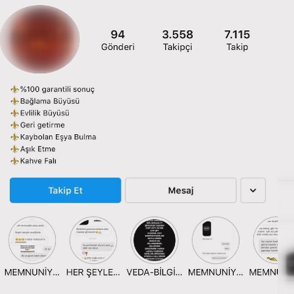 Sosyal medyada medyum dolandırıcılığı! 15 günde aşık etmek ve kaynana dili bağlamak 4 bin lira
