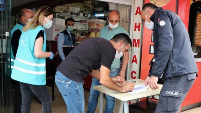 Sultanbeyli'ye salgının başından beri 10 milyon TL'lik koronavirüs cezası kesildi
