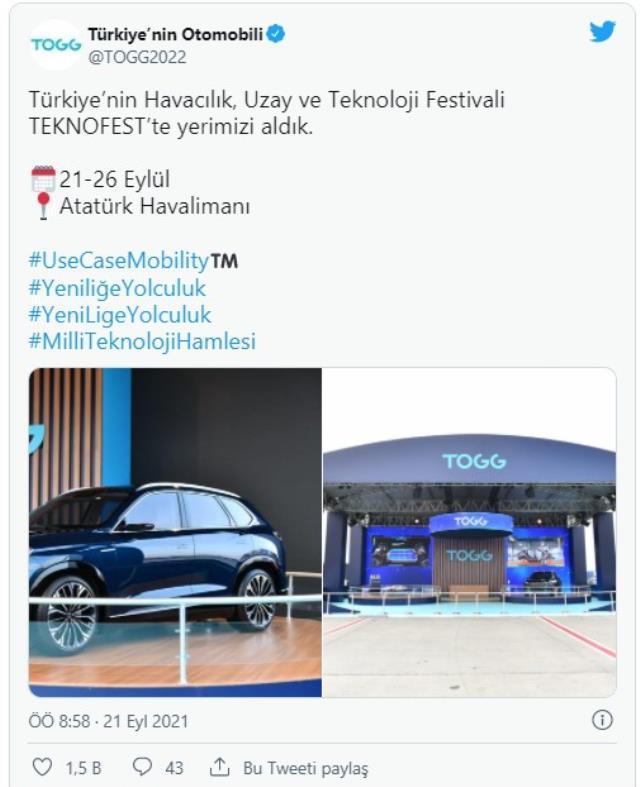 Türkiye'nin ayakları yere basmayan festivali TEKNOFEST başladı! Ziyaretçileri birçok sürpriz bekliyor