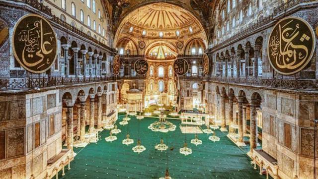UNESCO'nun Ayasofya'daki değişikliklerin bildirilmesi için yaptığı uyarıya Dışişleri'nden yanıt: Türkiye'nin mülkü ve titizlikle korunuyor